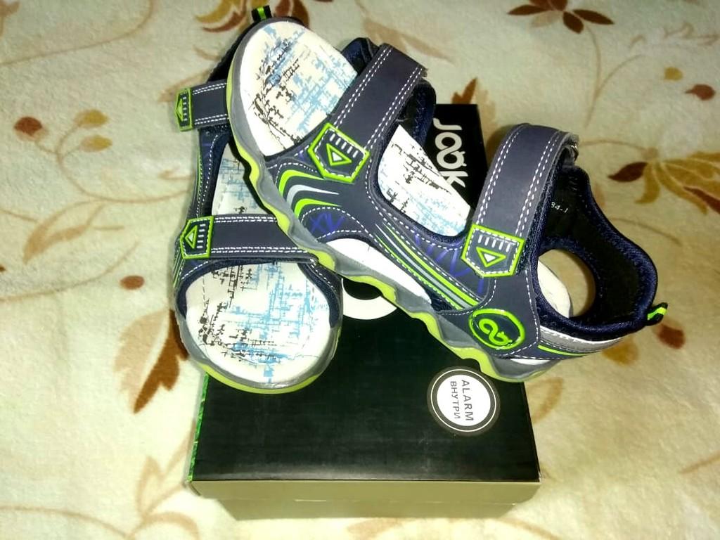 Новые (с коробкой)  сандали Джук р.31 (переросли)