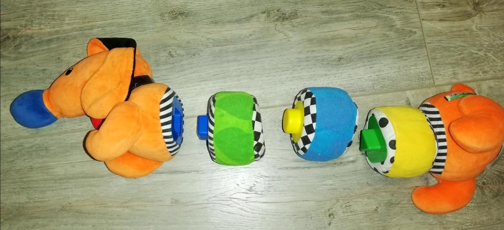 Развивающая игрушка Такса, пирамидка