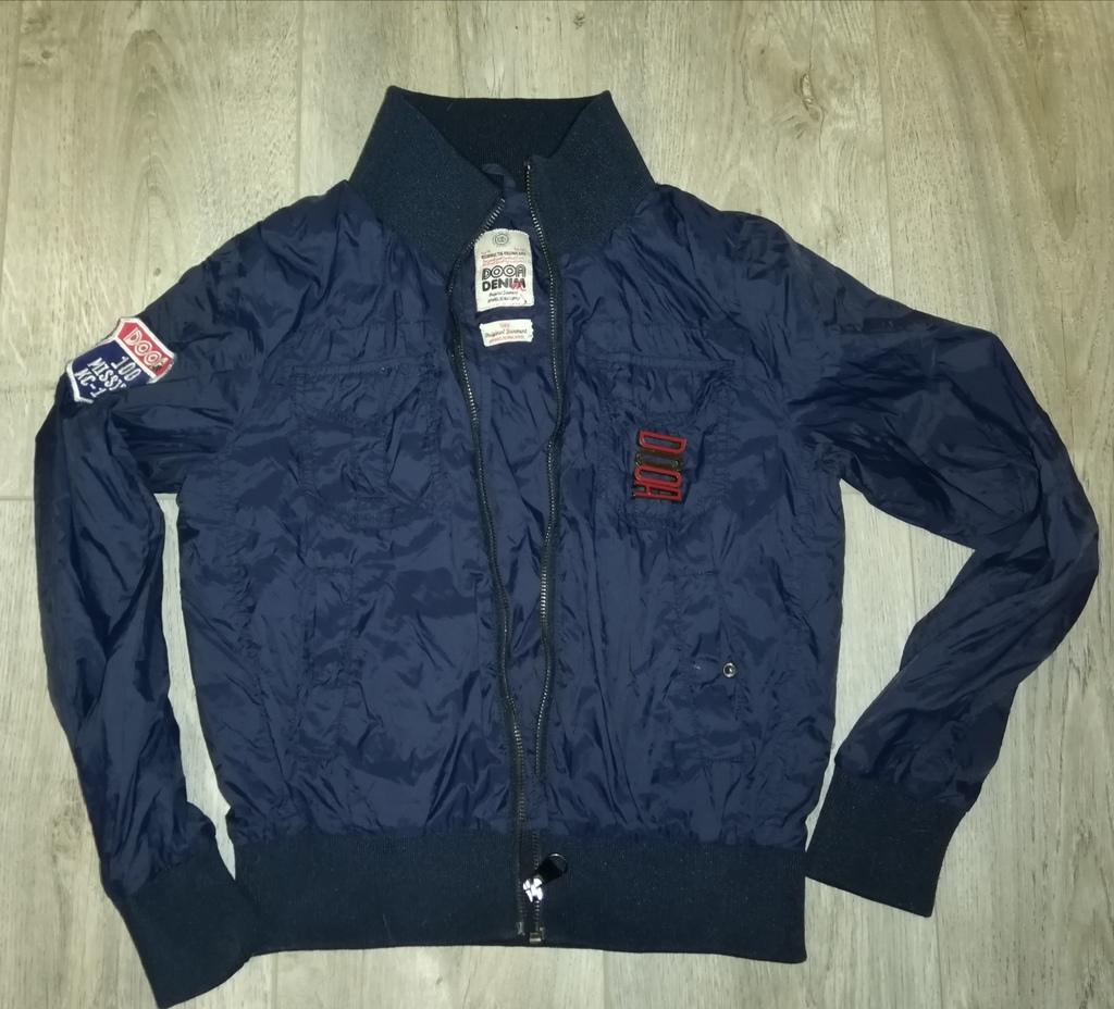 Куртка - Ветровка детская стильная на молнии Р. 12