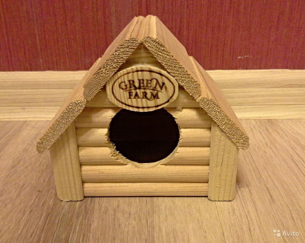 Домик для мелких грызунов, второй в подарок