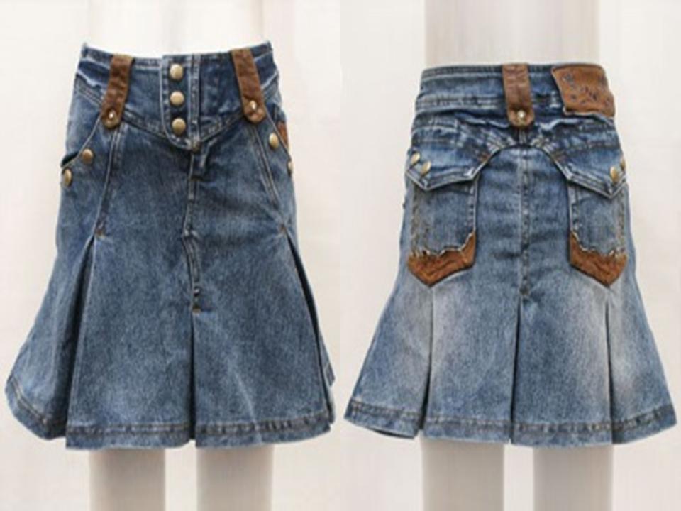 новая юбка джинс Deloras 134-140