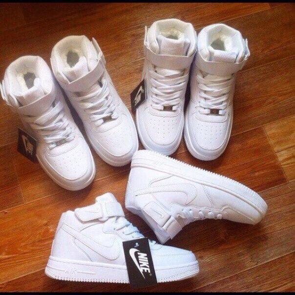 Кроссовки с мехом Nike 35-41