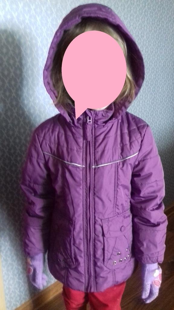 Куртка демисезон ,   рост  100-110 см .