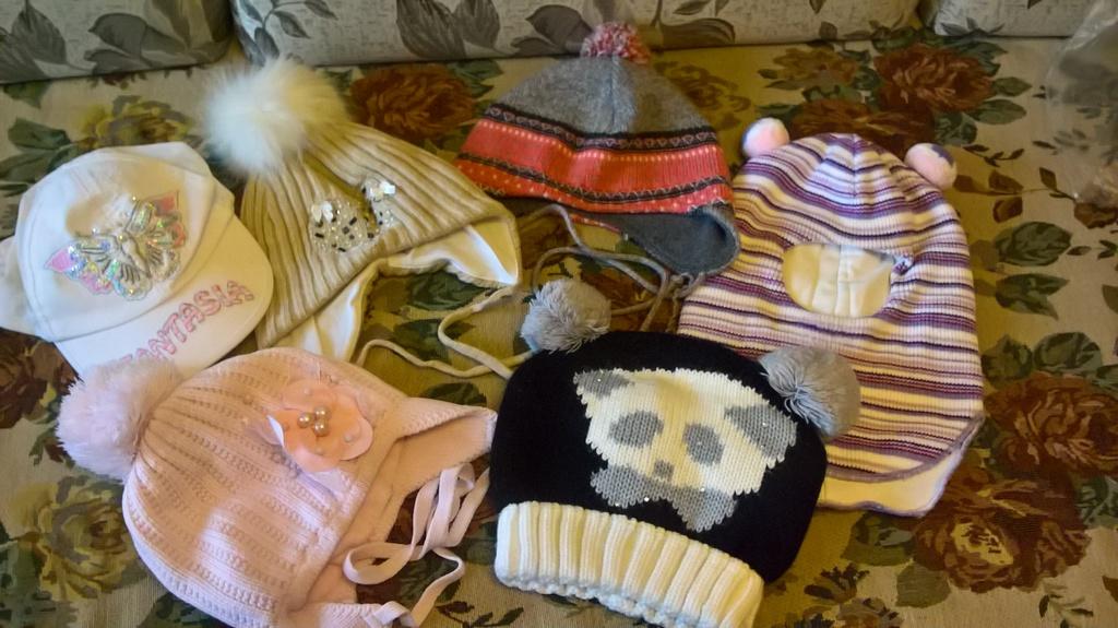 шапки 46-48, 50-52, 52-54