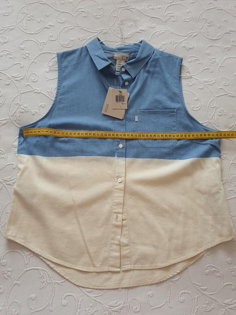 Рубашка без рукавов Levis р. L. Новая