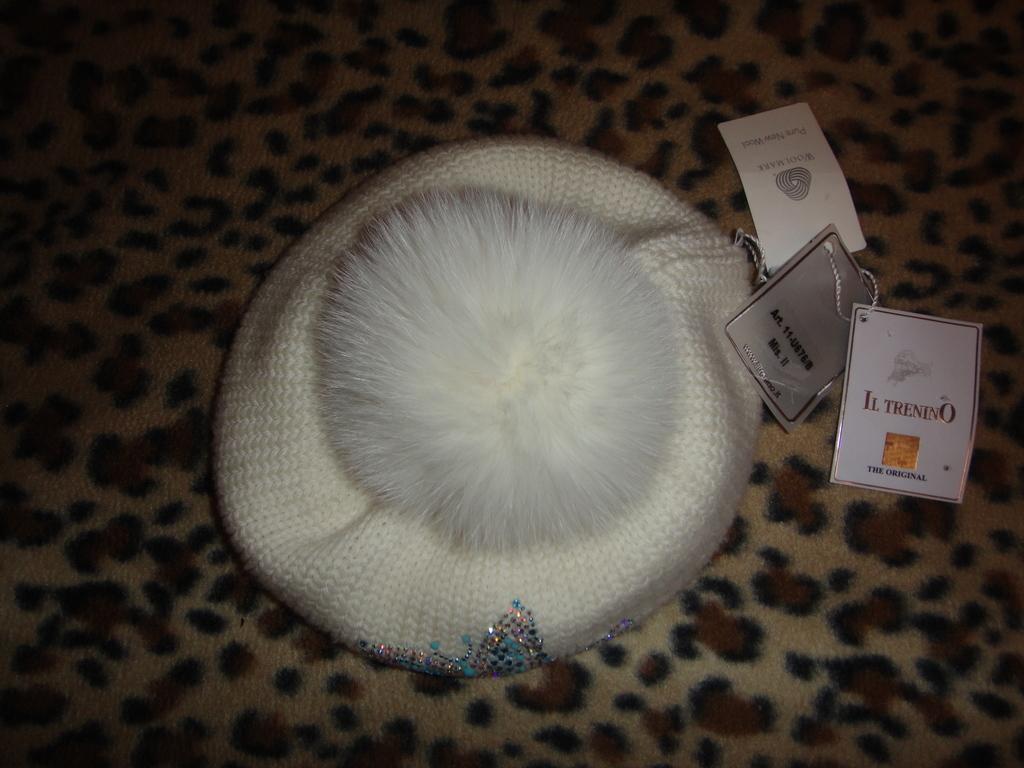 новый берет шапка Il Trenino р. 2 до 51 см Италия