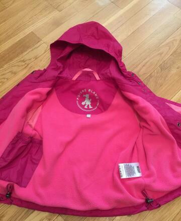Куртка ветровка poivre blanc р. 3 Франция