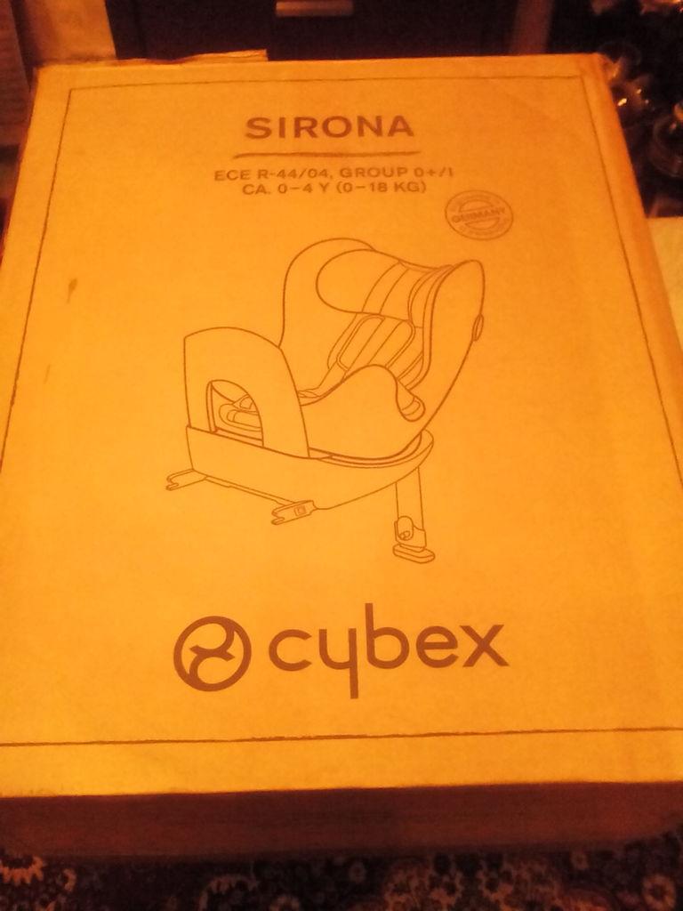 Cybex sirona+вкладыш д/н+летний чехол+зеркало