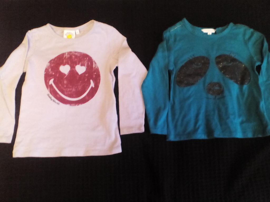 Логсливы футболки с длинным рукавом р. 5 104-110 с