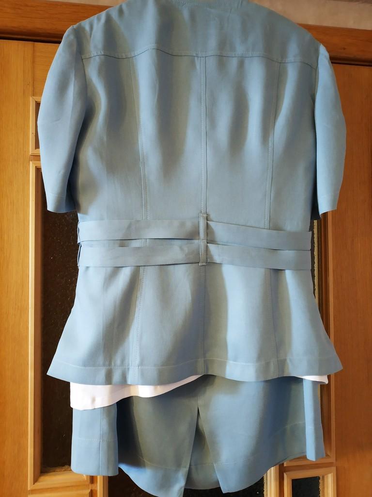 Комплект тройка Lakbi размер 52-54 голубой новый