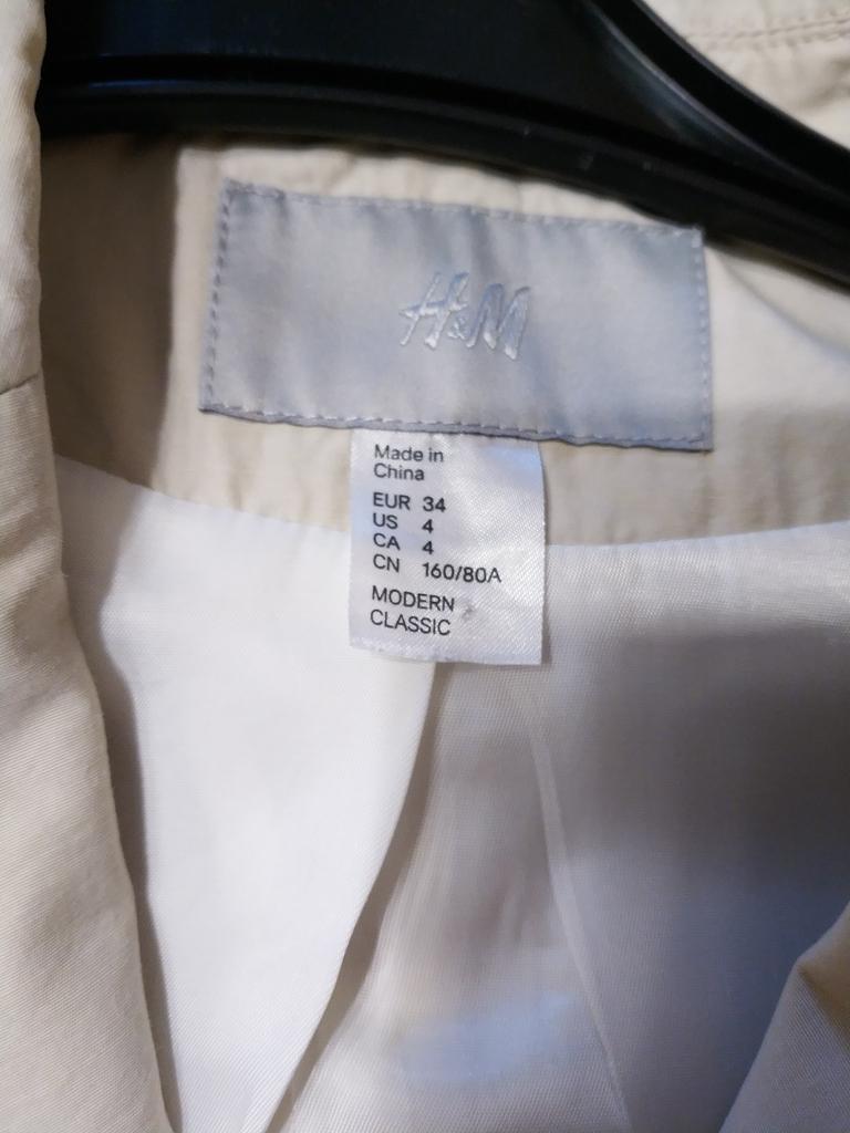 Пиджак H&M размер 34EU на наш 40-42