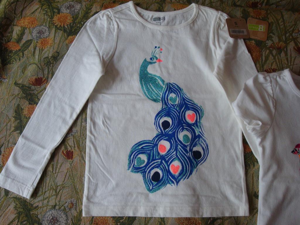 Лонг,футболка  Crazy 8( 110-122 см).