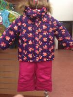 комплект зима для девочки размер 116