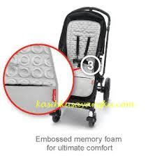 Новый Матрасик в коляску Skip Hop Memory Foam