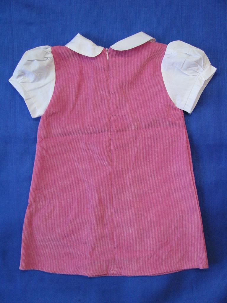 Платье вельветовое - новое, рр.98-122