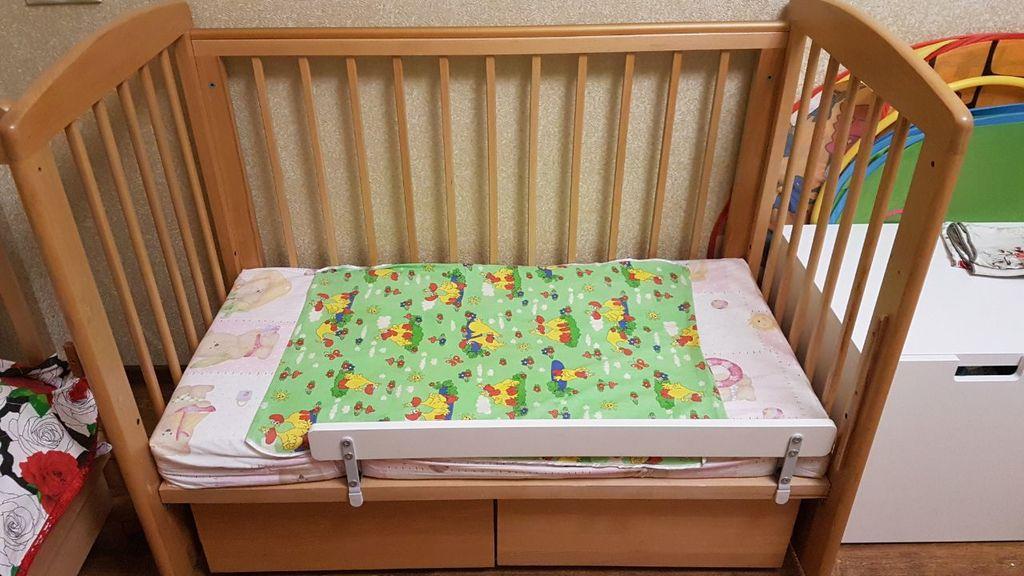 детская кроватка Кубаньлесстрой Лель Ромашка