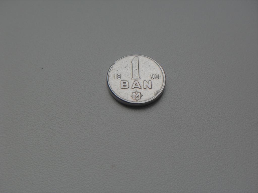 Монета 1 Бан 1993 год Молдова