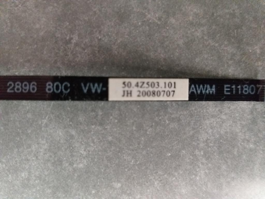 Шлейф для ноутбука 50.4Z503.101