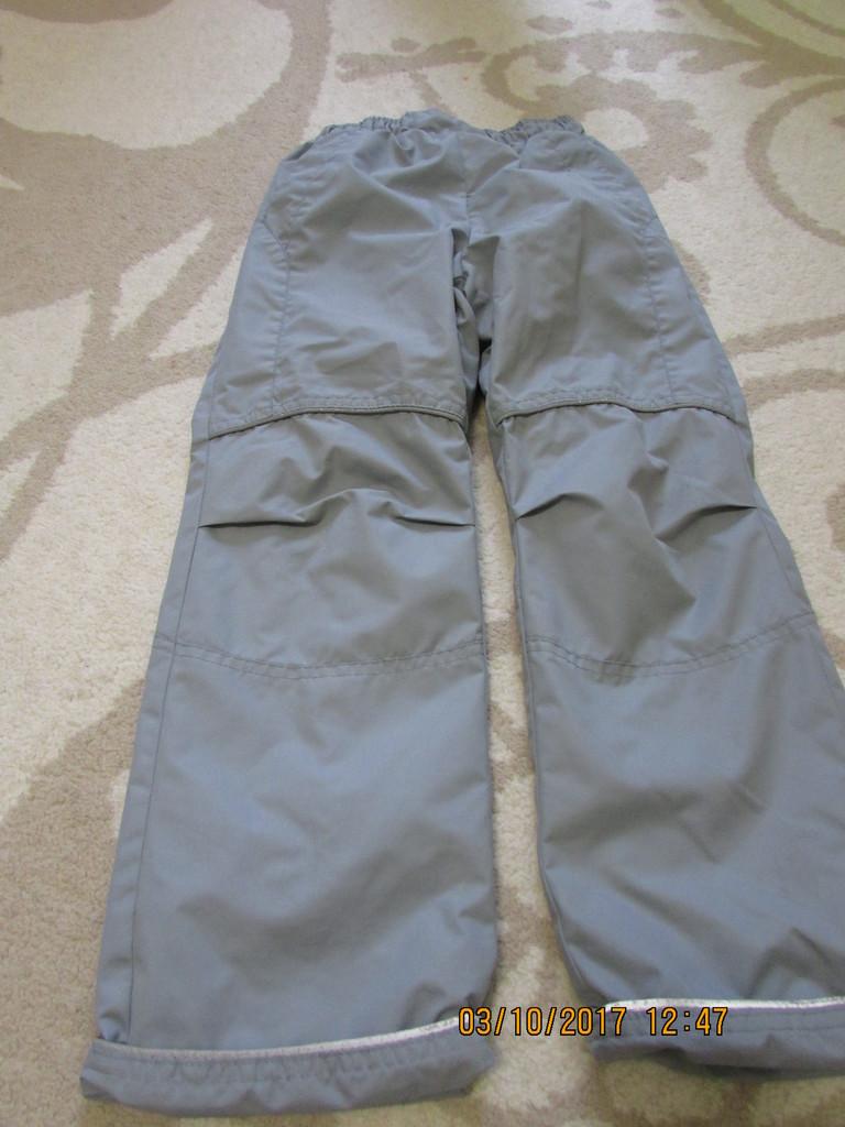 Утепленные брюки унисекс
