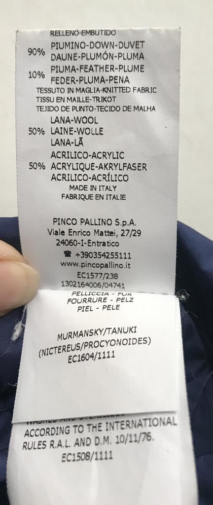 I PINCO PALLINO пуховик