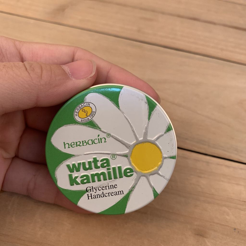 Herbacin Kamille Hand Cream Original, 20 мл новый