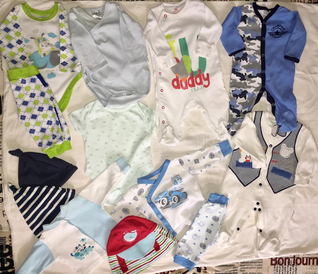cac918148 Продаю Детские вещи для мальчика пакетом 62 р в Санкт-Петербурге -  Барахолка Бебиблога