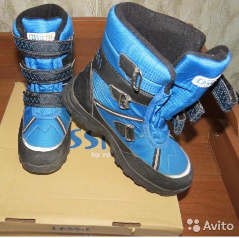 Ботинки для мальчика Lassie Tec