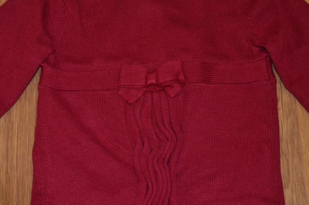 Вязаное красное платье Gymboree 5-6 лет