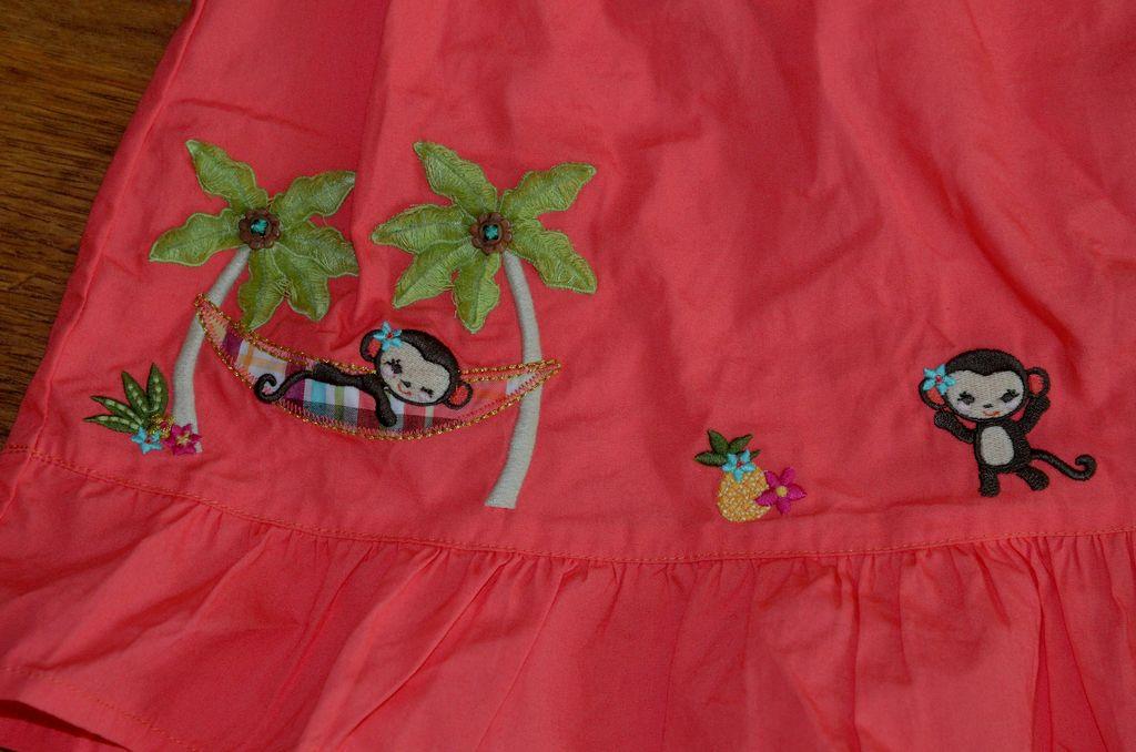 Комплект сарафан и панама gymboree 2-3 года.