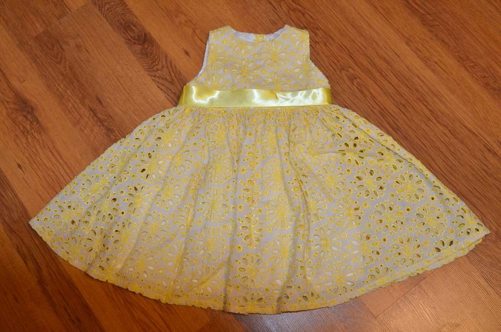 Комплект Halabaloo платье +легкое пальто (США) 4-5