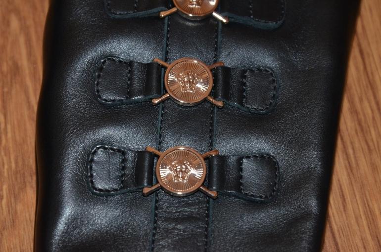 Сапоги Versace демисезонные раз.26 по стельке 17
