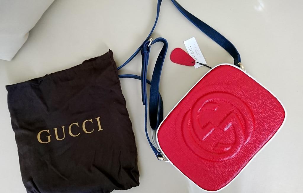 Сумочка Gucci, натуральная кожа