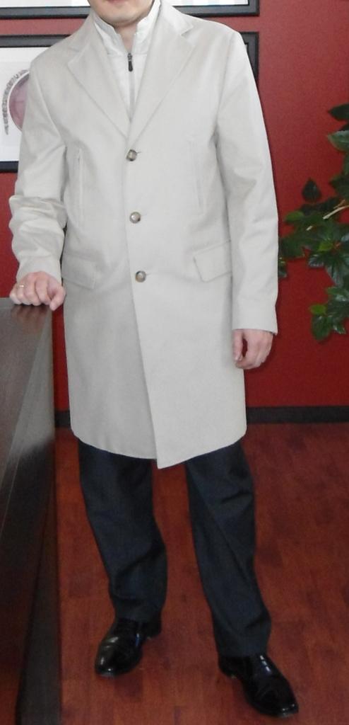 Стильное мужское пальто Henderson