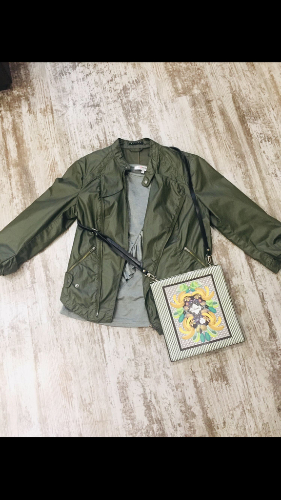 Куртка Sisley+ Кофта Morgan + Сумка из Греции