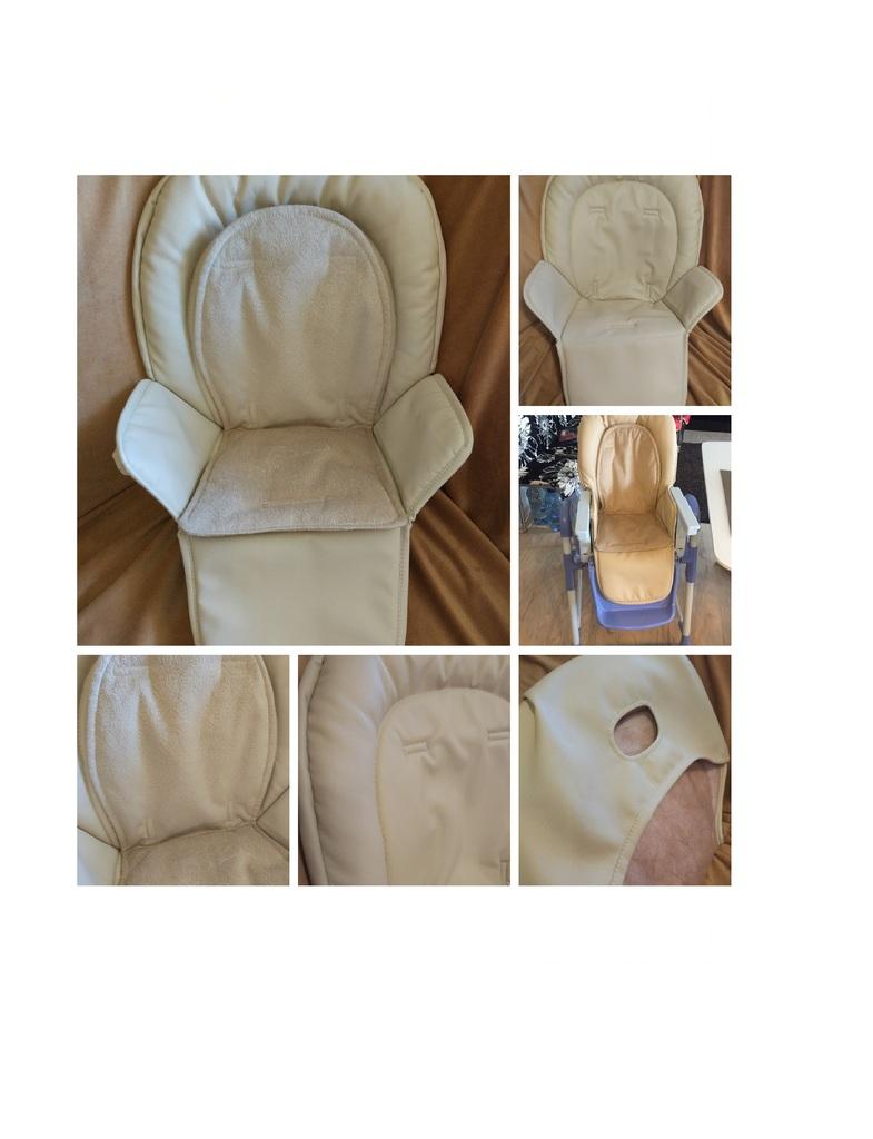Съемный чехол на стульчик Chicco Polly