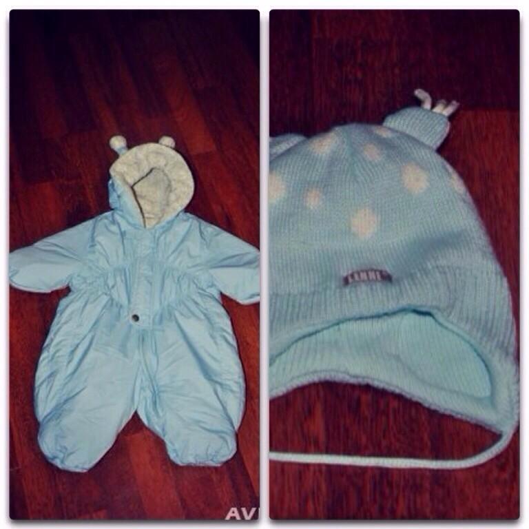 Комбинезон Karry + шапочка Lenne  в подарок. Осень