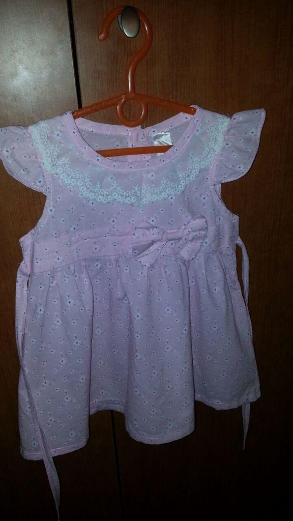 Песочники, платья, костюмы на лето для девочек