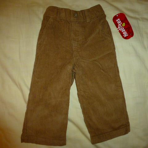 брюки вельветовые HealthTex, 18мес.+, новые