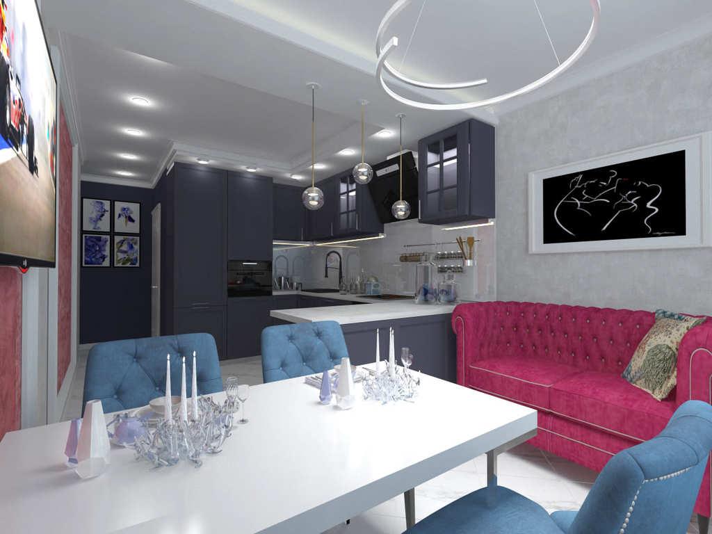 Дизайн проект интерьера и ремонт квартир