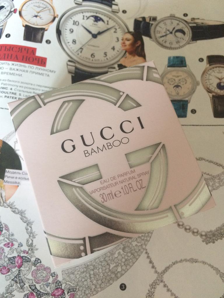 Парфюмерная вода Gucci Bamboo 30 ml (оригинал)