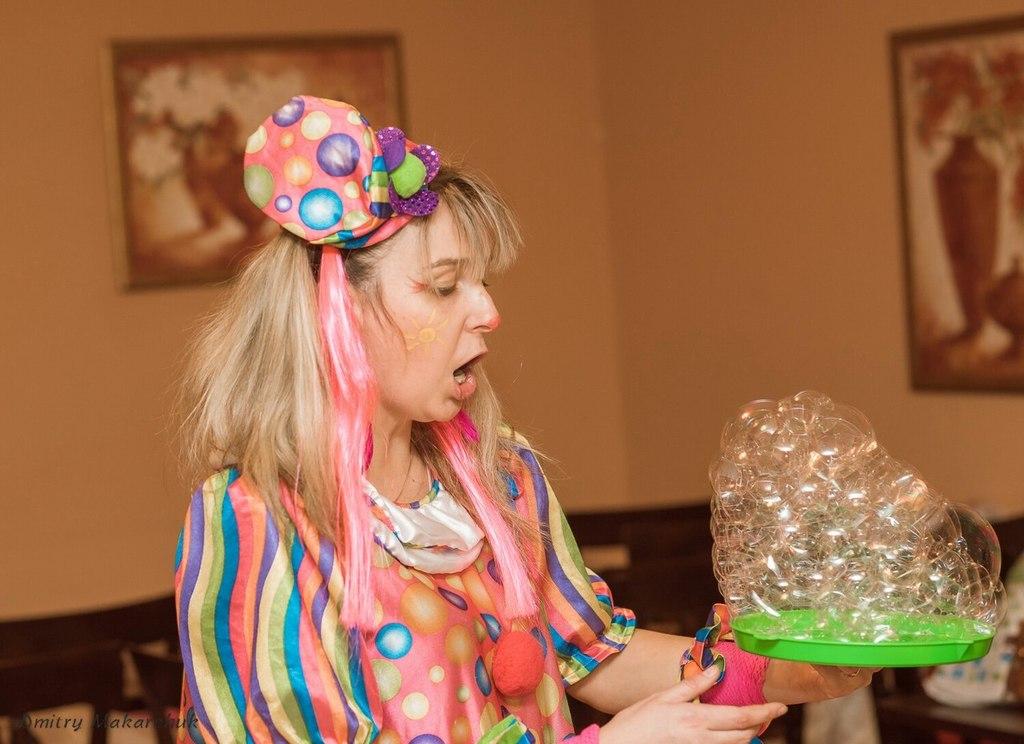 Шоу мыльных пузырей на любой праздник!