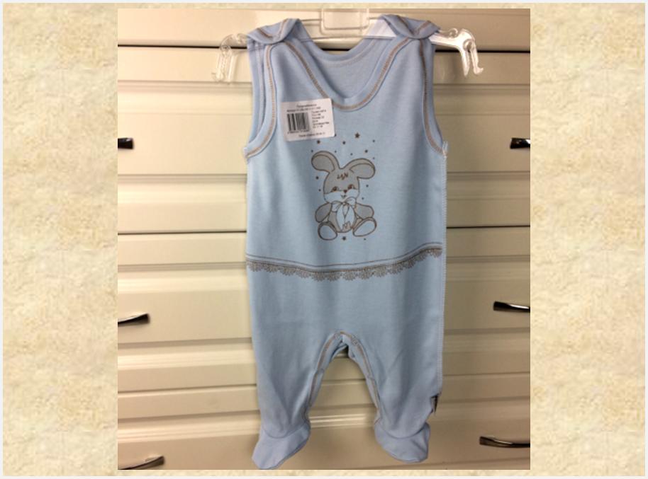Комплект белья для новорожденного мальчика/4 вещи