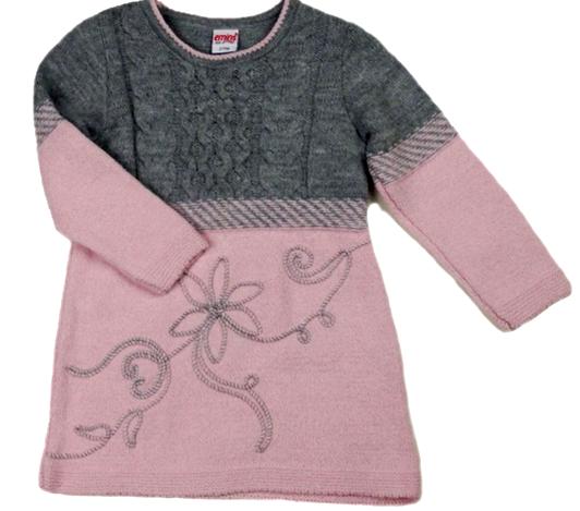 Платье детское вязаное с легинсами на 2 г/Турция