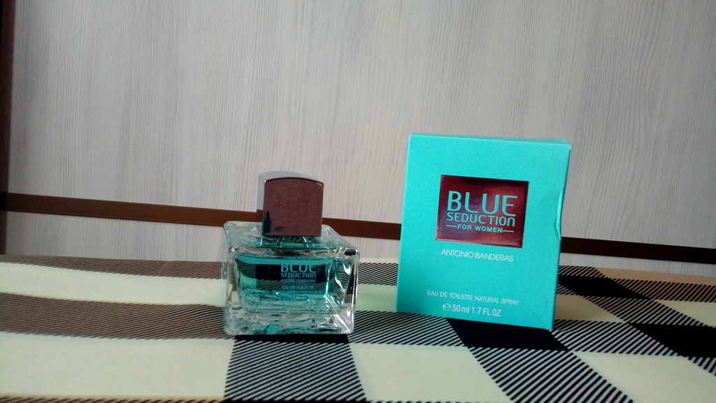 Antonio Banderas Blue Seduction Woman, edt 50 ml