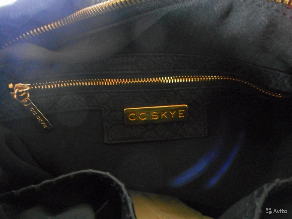 CC Skye Turner Python-Embossed Leather Hobo США