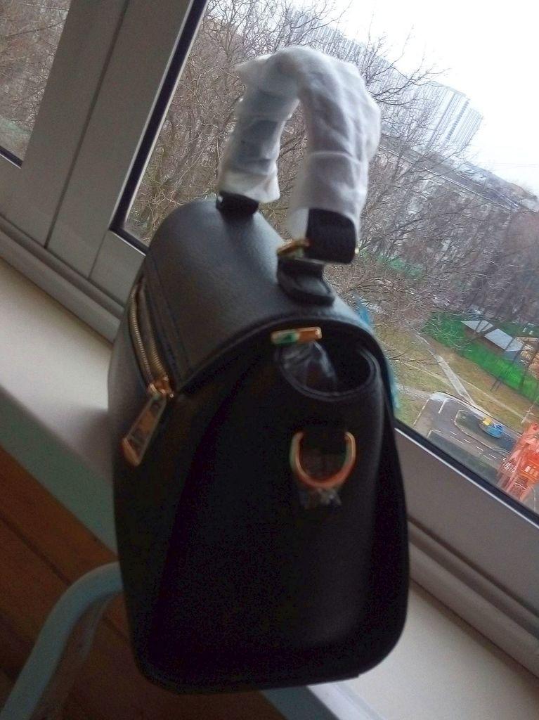 новая кожаная сумка Zooler