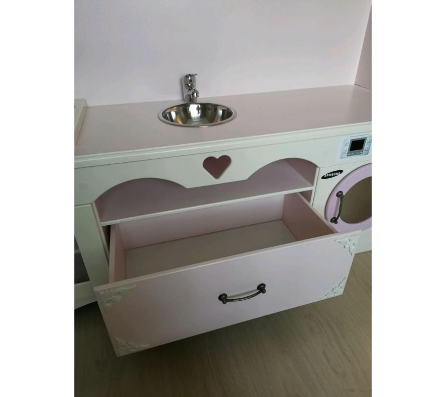Детская игровая кухня с ящиком