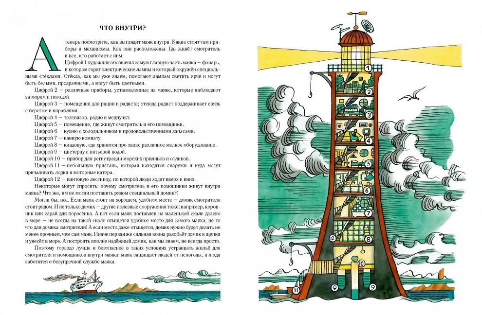 Длуголенский О моряках и маяках Худ. Ясинский