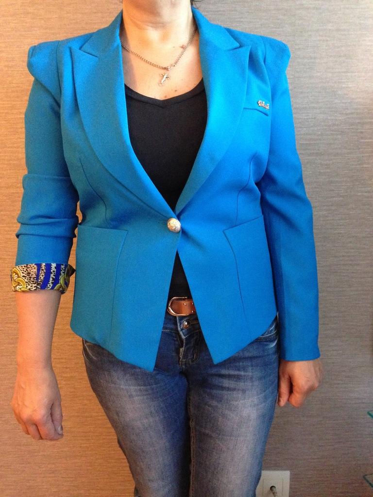 Стильный пиджак. 48-50 размер.