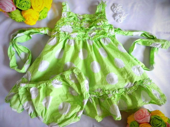3 сарафана и платье пакетом 80-86